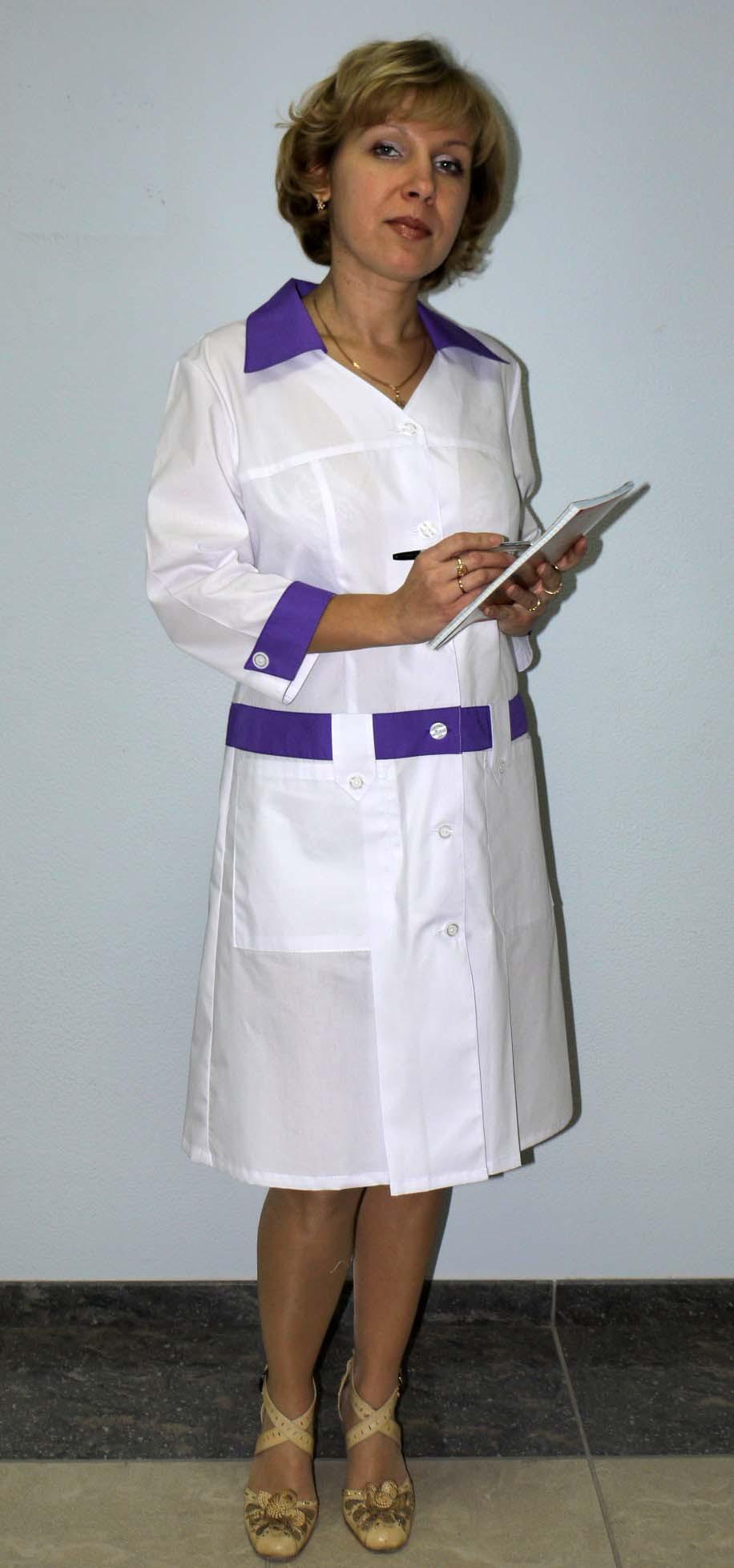 Фото женщины в медицинском халате 5 фотография